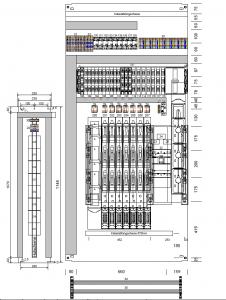 Energieschrank Montageplatte